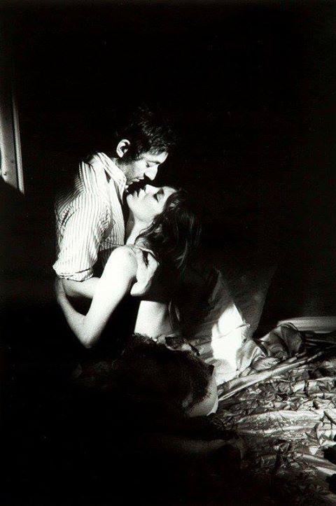 Serge Gainsbourg and Jane Birkin, 1969.