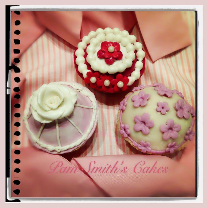 My Romantic CupCakes!