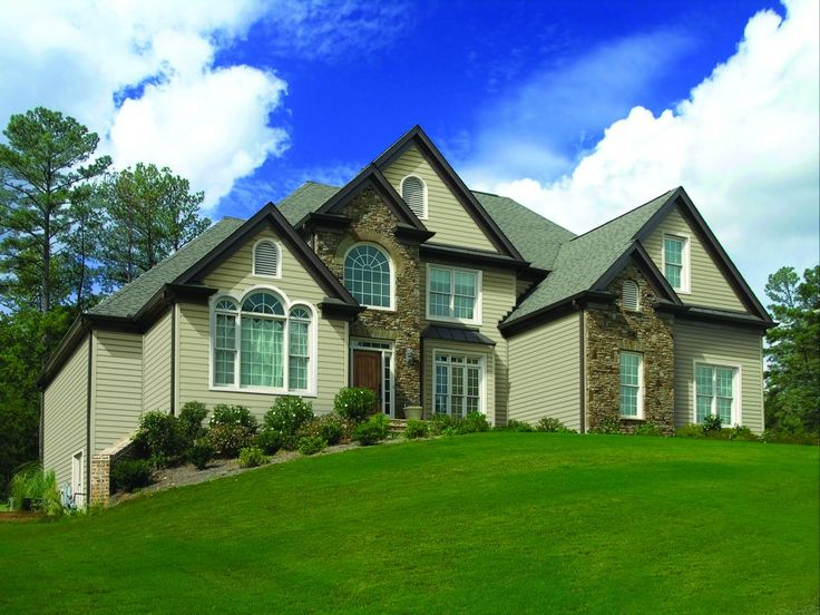 When you consider what you want and need in a home exterior you ll see why gentek s new - Kinds siding consider home ...
