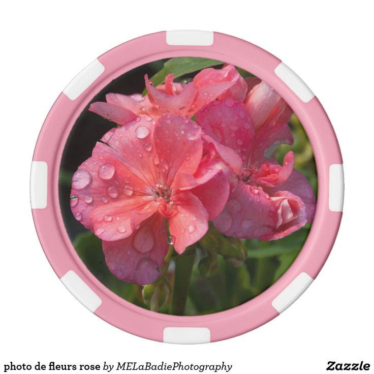 photo de fleurs rose