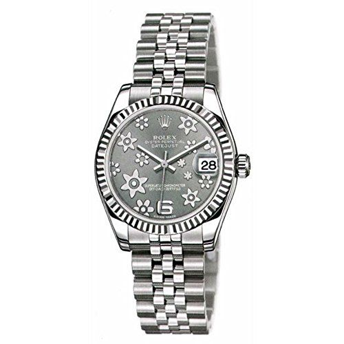 Rolex Women's m178274-0092 Datejust Dark grey Watch ** Read more reviews of ...