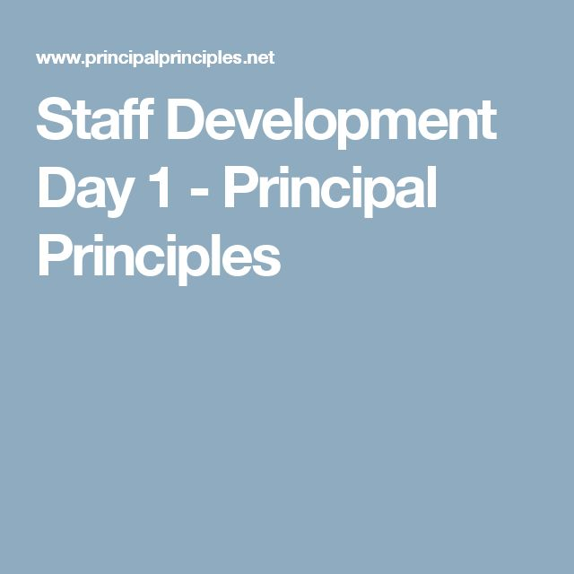 staff development teaching for Staff development represents an intentional effort by supervisors and administrative leaders of student affairs to improve staff members' effectiveness employ accepted methods of teaching and learning in staff development activities policy.