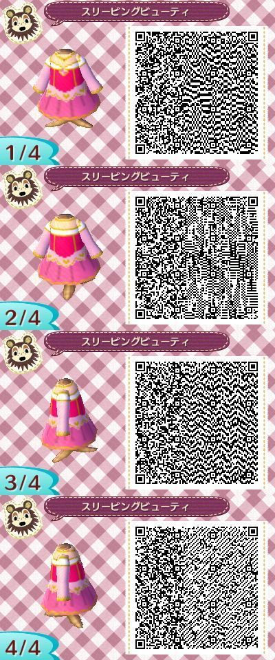 Animal Crossing New Leaf Sleeping Beauty dress