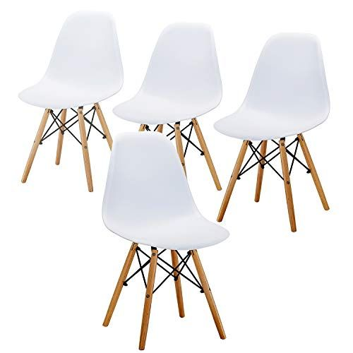 Eames Chair Mid Century Modern Style Dining Chair Wooden Legs