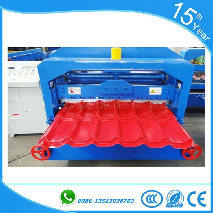 1080 glazed tile roll forming machine