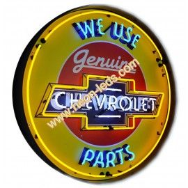 Find best Metal Can Chevrolet Parts Neon Sign for sale, Affordable Metal Can Chevrolet Parts Neon Sign, 2 years of quality warranty, 100% undamage guaranteed