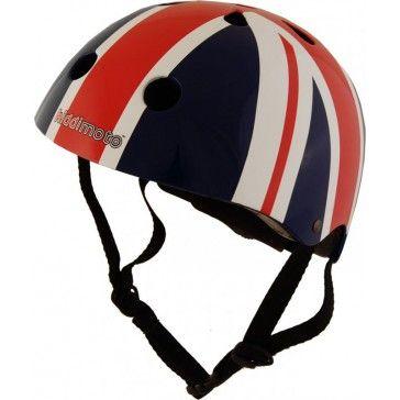 Kiddimoto Helmet Union Jack Medium