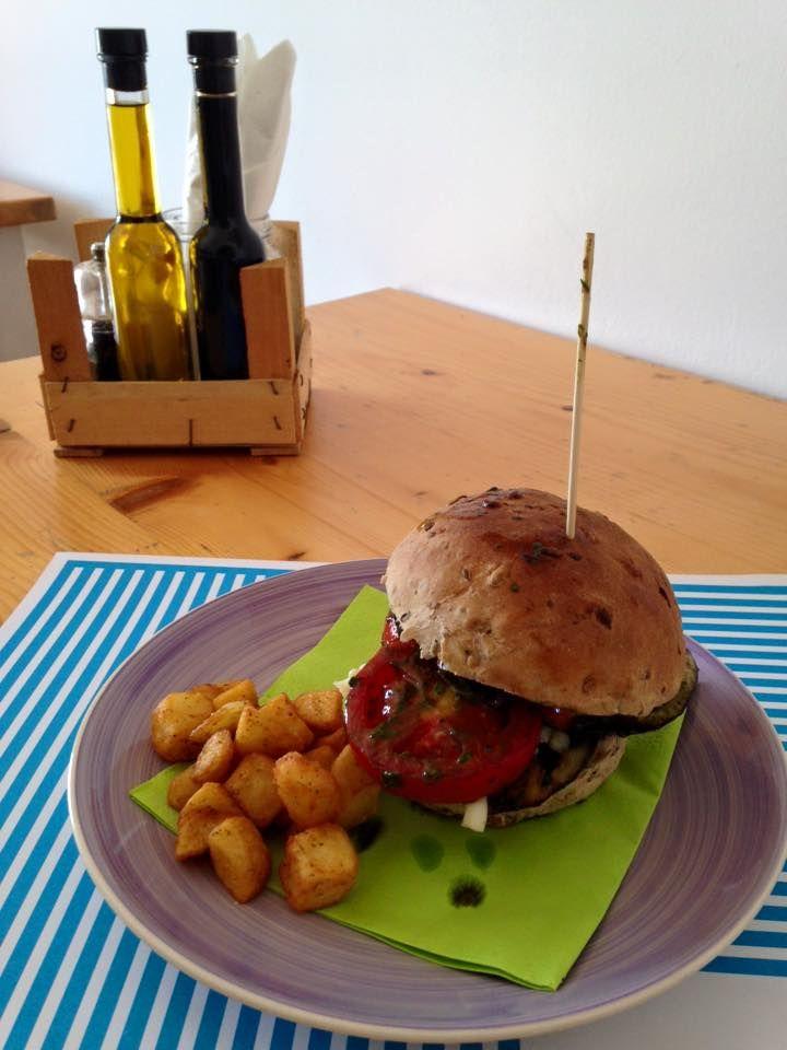 veggie burger MELANZANE
