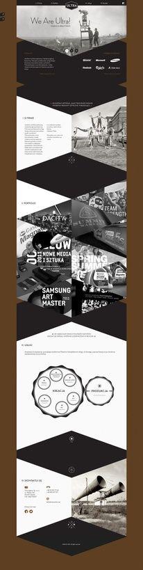 Web Design / Ultra We Are Ultra Creative Agency