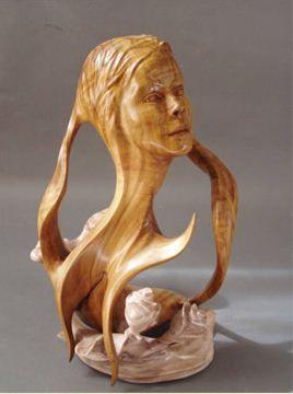 J. Christopher White.  Изящные деревянные скульптуры. Пятая