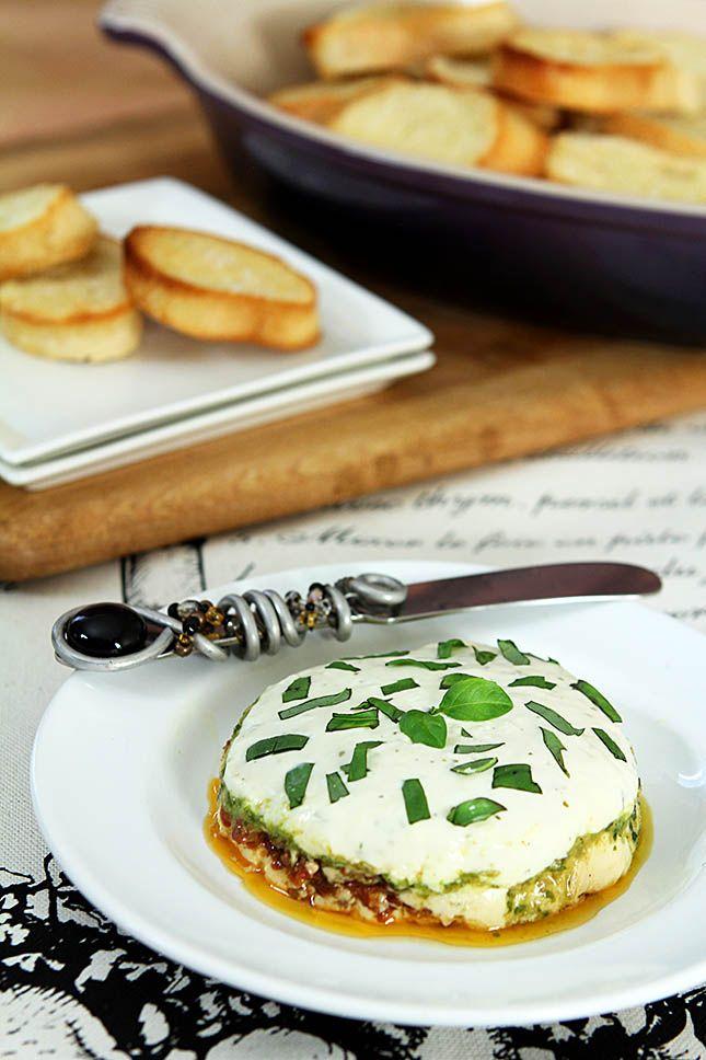 Sonoma Goat Cheese Torta | @Creative-Culinary.com