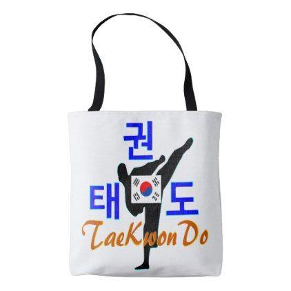 Love Korean Martial Art-TaeKwonDo Classic Tote Bag - chic design idea diy elegant beautiful stylish modern exclusive trendy