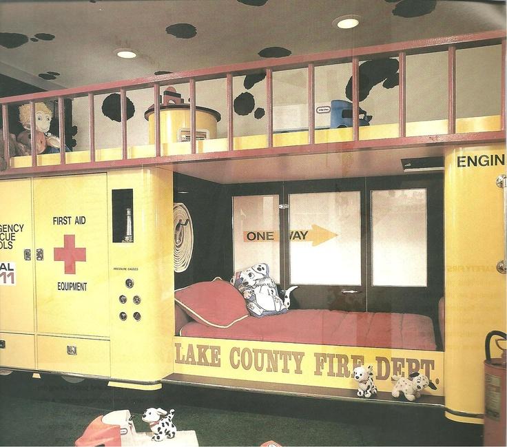 Fireman Bed