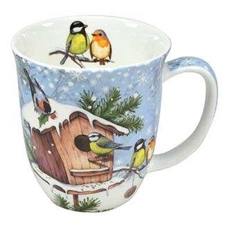 Julmugg - Christmas Birds - Vinterns mysigaste julmugg! Perfekt till både kaffet eller teet - Produktsida För Hemmet - Ekologiskt te & kaffe att köpa i Tebutik - Stockholm & Lund - Tehuset Java AB