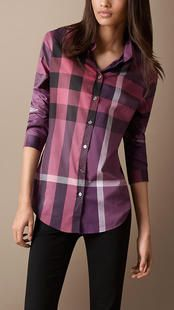Love Burberry Shirt! Perfect for Fall! $79 Only!!OMG I'm gonna love this site #fall #fashion
