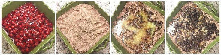 Chocolate Cherry Dump Cake Recipe