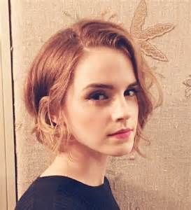 New Emma Watson jawline slight front angle Bob!