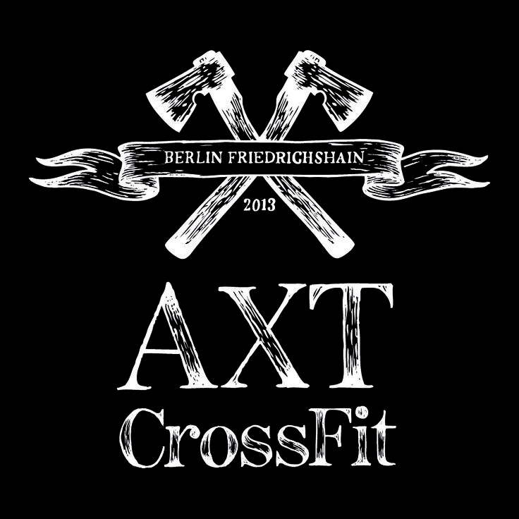 New logo design for AXT CrossFit Berlin - expect this to appear in our communication and maybe even on t-shirts, soon....