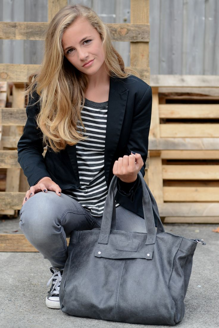 The Chalrose Next Week Bag in Grey!