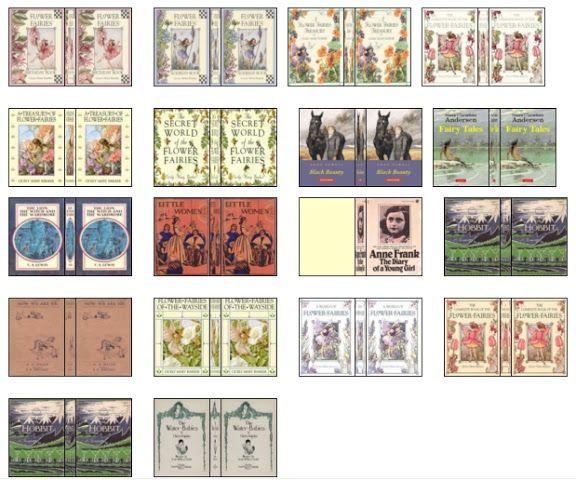 Boekjes 1 12 Poppenhuis Printjes 1 12 Mini Books