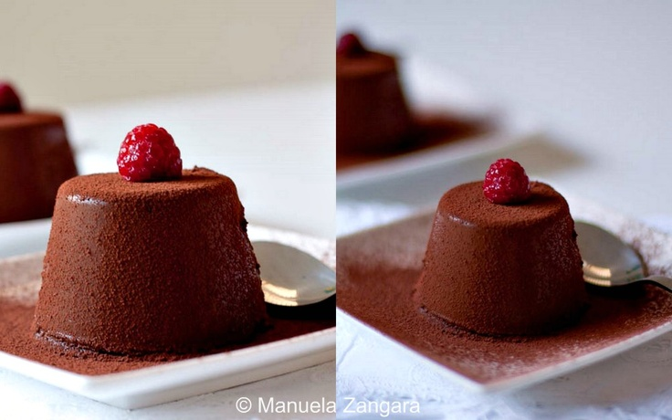 Chocolate Panna Cotta | Panna cotta, Chocolate panna cotta and ...