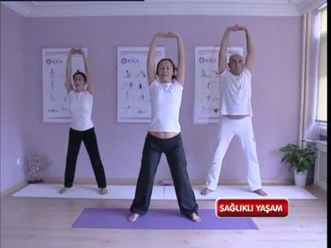 Zayıflama İçin Yoga Çalışması - 17 11 2012 - www.alsancakyoga.com - YouTube