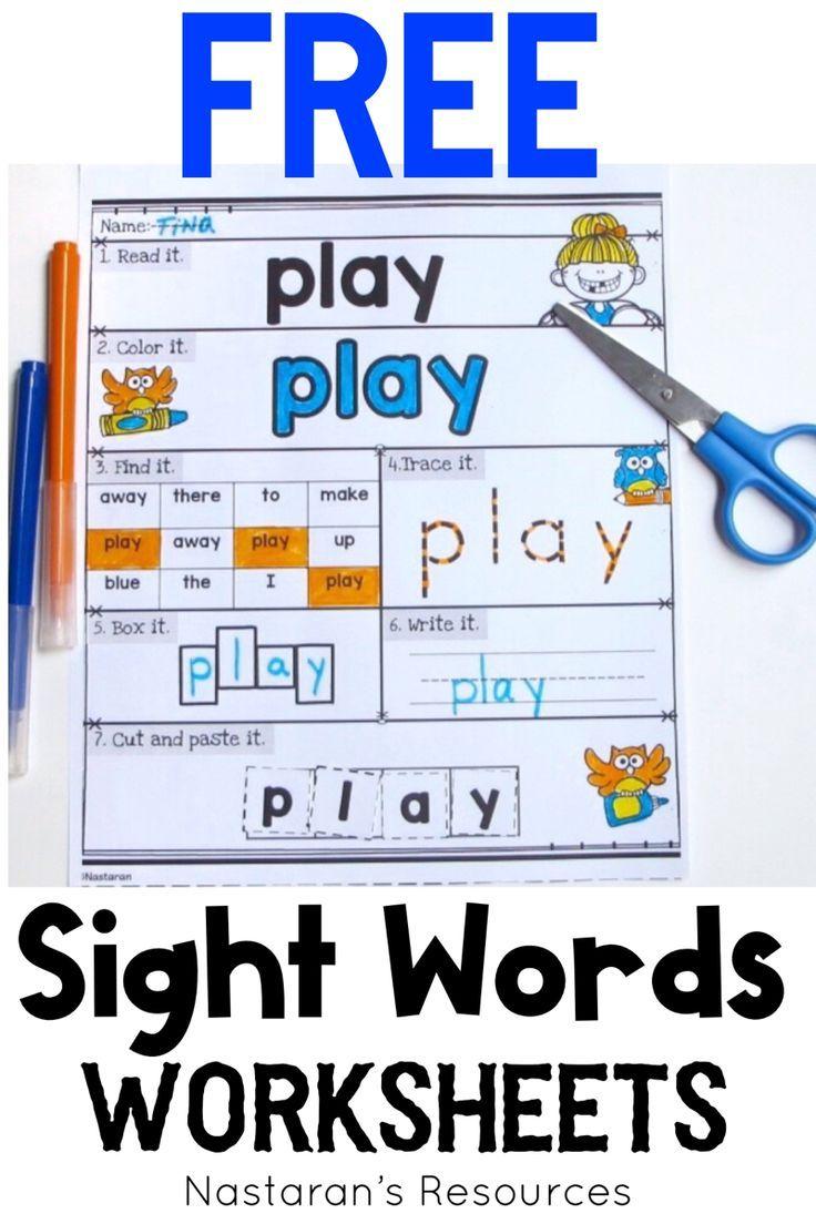 Free Printable Sight Words Worksheets Sight Words Kindergarten Sight Word Worksheets Sight Words Printables [ 1104 x 736 Pixel ]