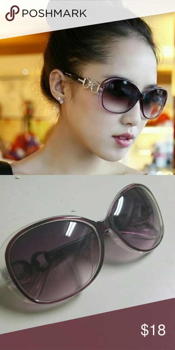 Super chic oversize shades Oversized sunglasses in the perfect shade of purple Amirah L Accessories Glasses