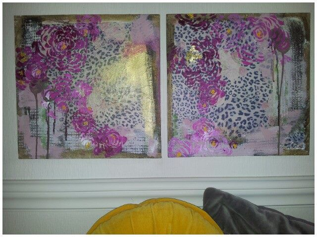 """Mixed Media- """" I never promised you a Rose garden """""""