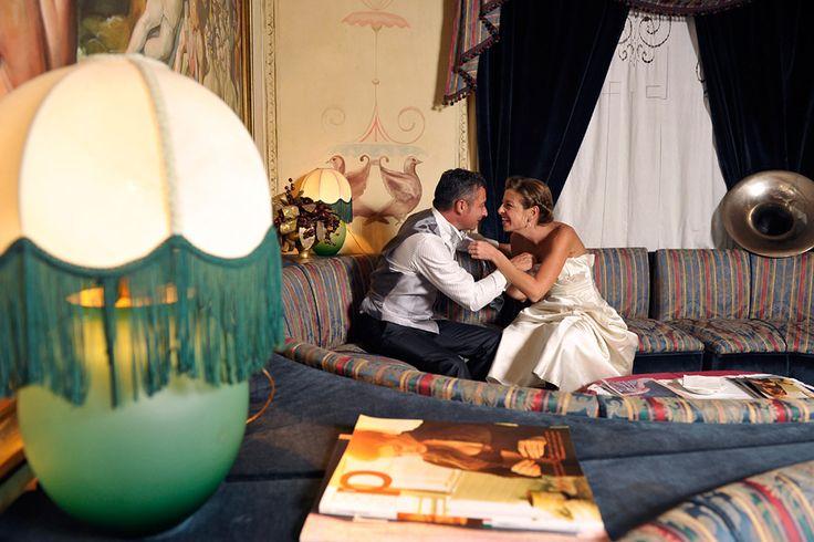 Reception venue in Rome: il Picchio Rosso - Wedding Photography by Fibre di Luce - #rome #20s #vintage http://fibrediluce.blogspot.it/2013/03/elisa-danilo.html