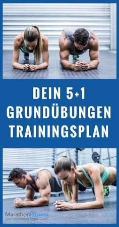 Grundübungen Trainingsplan: 6 Übungen für einen schlanken, starken, sexy Körper – Eva Lang