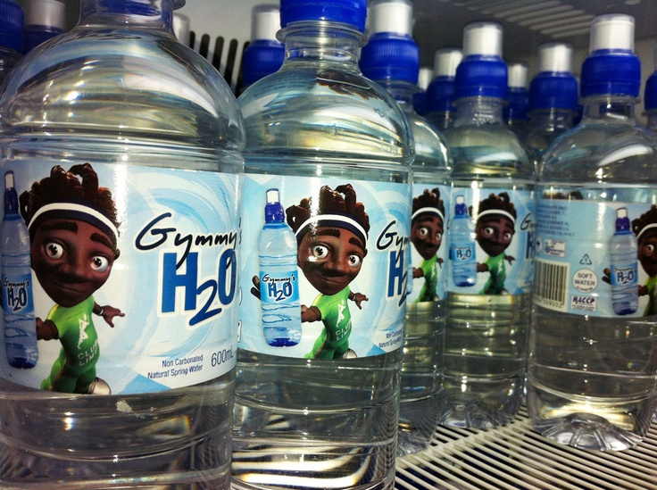 Gymmy's H20 Water Bottle - Design and Application