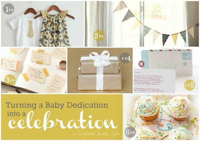 baby dedication celebration ideas