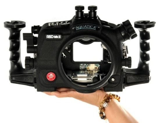 Aquatica A5D Mk III is a new underwater housing for the Canon 5D Mk III camera $3199.00