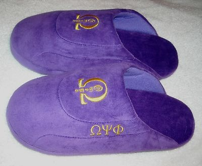 Omega Psi Phi slippers- My husband would love these!