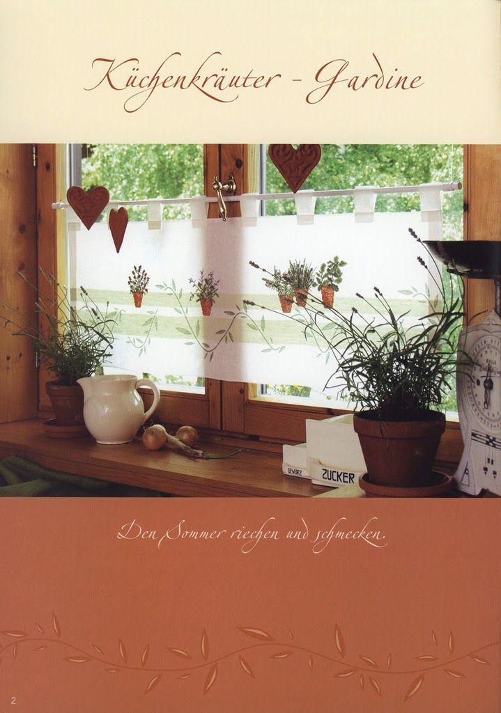 Рукотворные штучки: Журналы Immergrun и Gartenpoesie и другие со схемами растений.