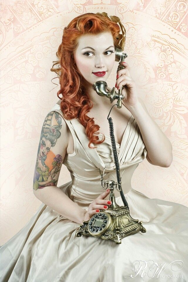 vintage rockabilly pin-up 1940s glamour