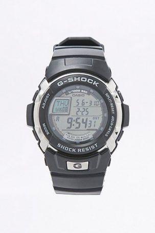 G-Shock – Digitaluhr in Schwarz – Herren EINHEITSGRÖSSE
