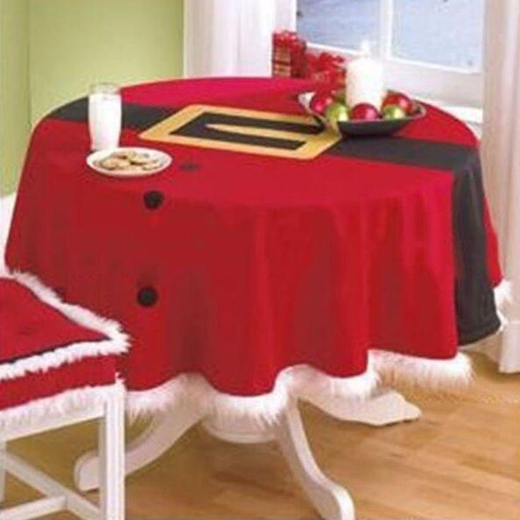 festive u0026 party supplies christmas table cloth decoration round red table cloth christmas supplier free shipping