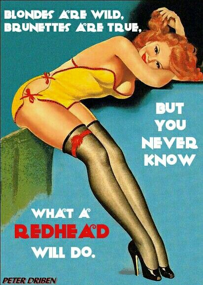 sex facts about redheads