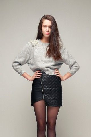 Sophisticated Fun, storets! Asymmetric Hem Faux-leather Quilted Skirt. Is it too soon to talk FALL? http://keep.com/sophisticated-fun-storets-asymmetric-hem-faux-leather-quilted-skirt-sophisticated-fun-storets-by-cocomist/k/zoHsE1gBLc/
