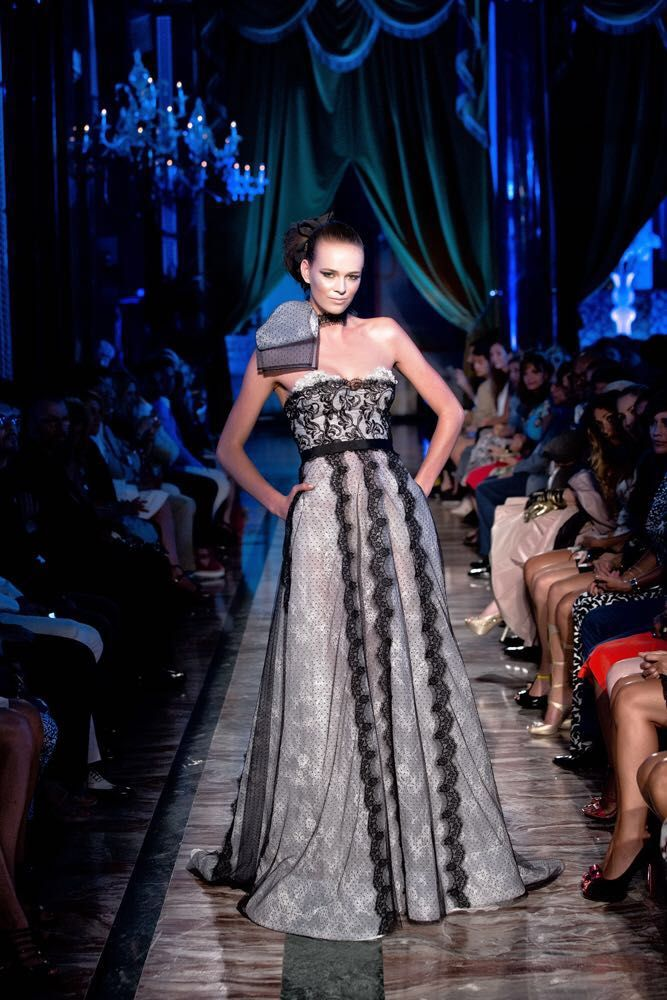 "Giada Curti ""Le Bandeau d'Amour"" A/W.2013/14 Haute Couture Collection - Alta Roma - The St.Regis Rome"