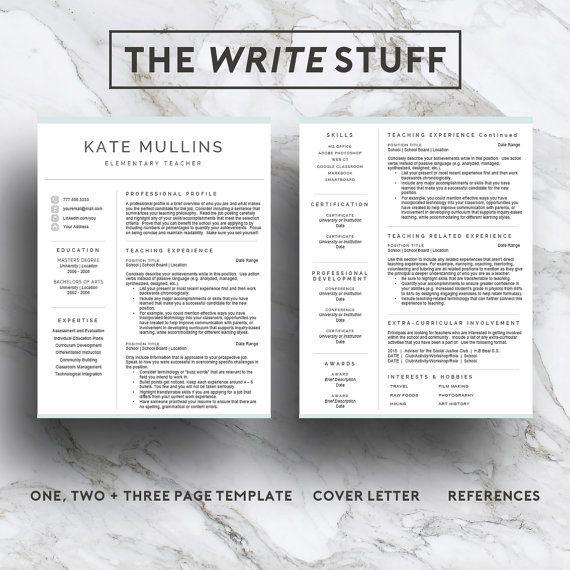 best 25  teacher resume template ideas on pinterest