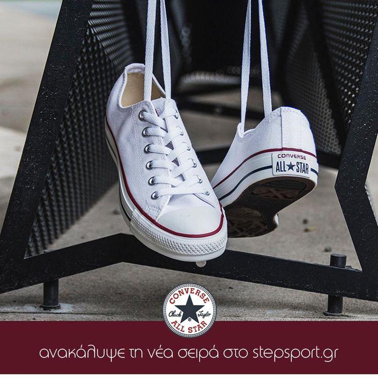 Ένα από τα πιο κλασικά και αγαπημένα μας παπούτσια! Τα CONVERSE All Star, τώρα σε νέα σχέδια. Shop Online!