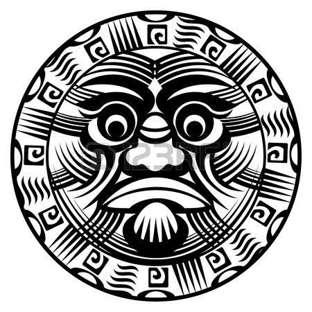 полинезийские татуировки Фото со стока