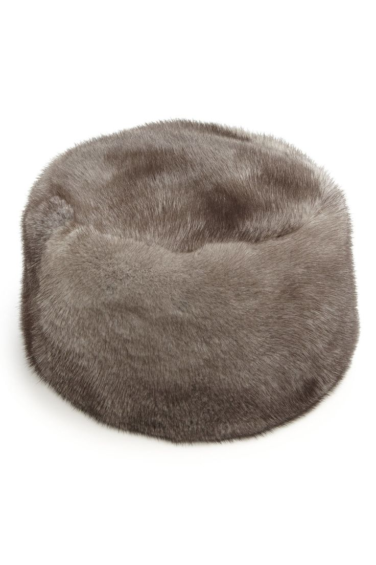 No matter where this season takes you, a mink hat fit for a 19th century Russian winter is always suitable.  Sherry Cassin Mink Hat, $745, saksfifthavenue.com.   - HarpersBAZAAR.com
