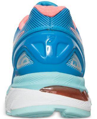 Asics Women's Gel-Nimbus 19 Running Sneakers from Finish Line - Blue 9.5