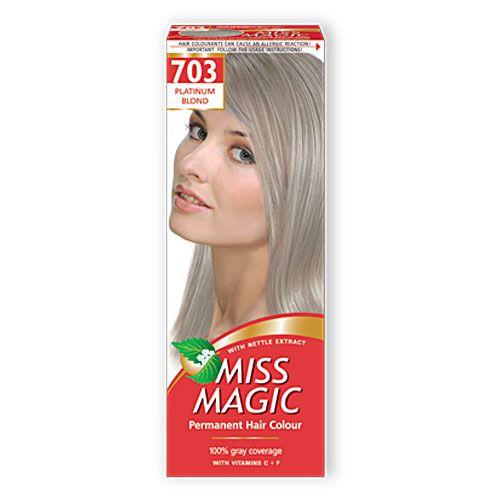 Мисс Мэджик Краска д/волос 703- Платиновый блондин
