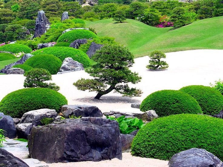 Красивые сады и цветники фото - сад в японском стиле