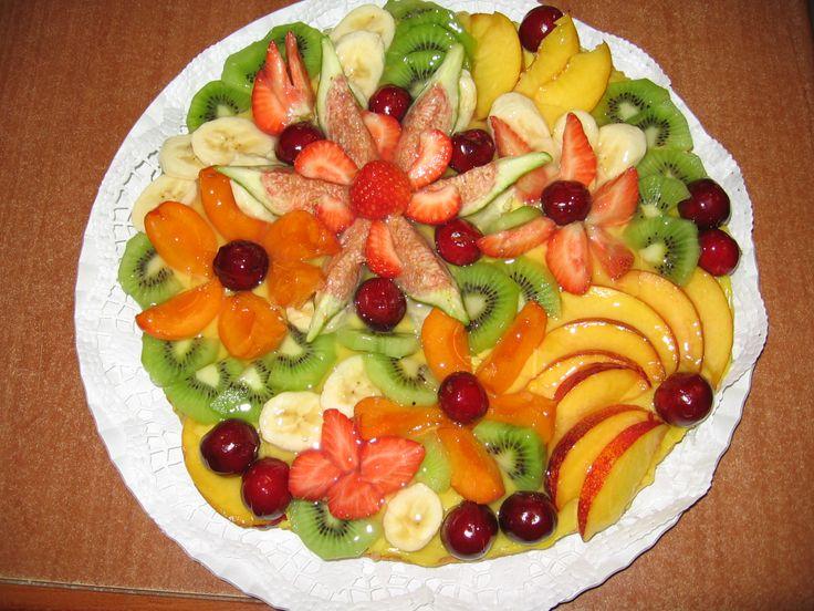 Dalla A allo zucchero:torta morbida di frutta